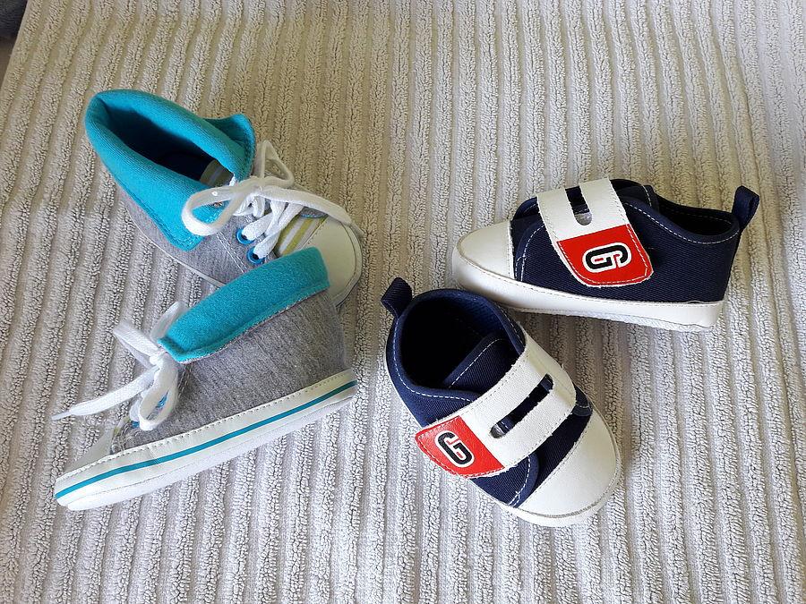 the latest 96d75 f474b 2 Paar Krabbelschuhe Sneaker neu Gr.74/80 | Bebivita ...